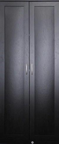"Mainstays 72"" Storage Cabinet, Black Oak - Walmart.com"