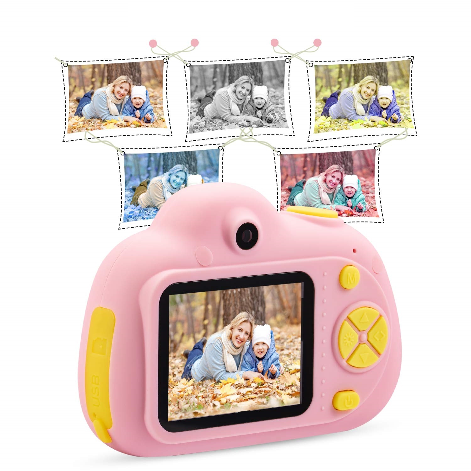 Kids Toys Camera For 3 6 Year Old Girls Boys Compact