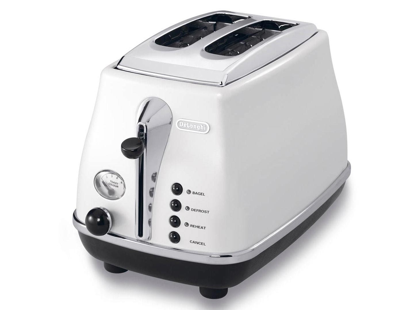 Grille Pain Design Delonghi Cto2003wcto2003w 2 Slice Toaster