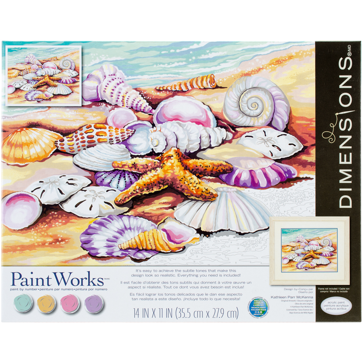 Paint Works Paint By Number Kit 11