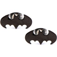 Batman Steel Stud Earrings - Walmart.com