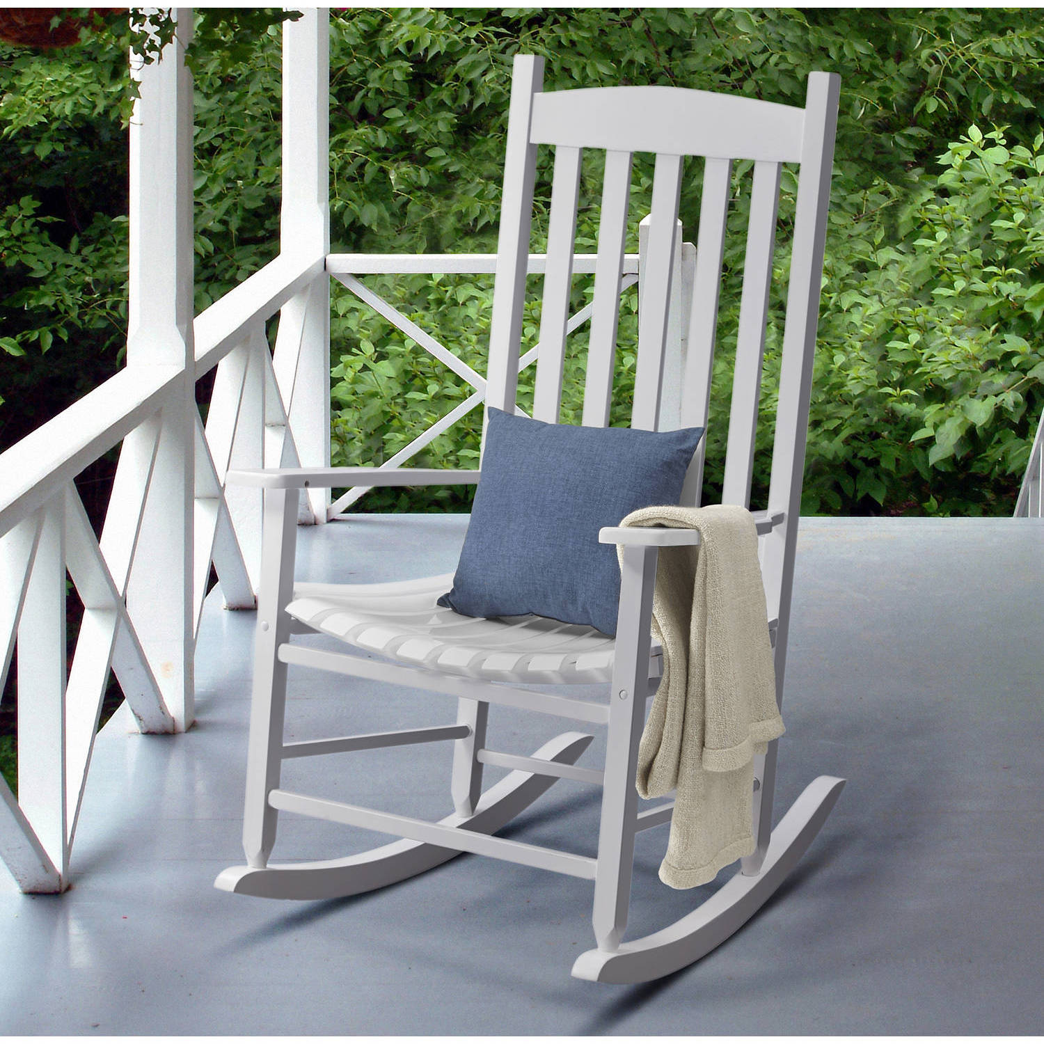 Patio Rocker Chairs Mainstays Jefferson Outdoor Wrought Iron Porch Rocking Chair