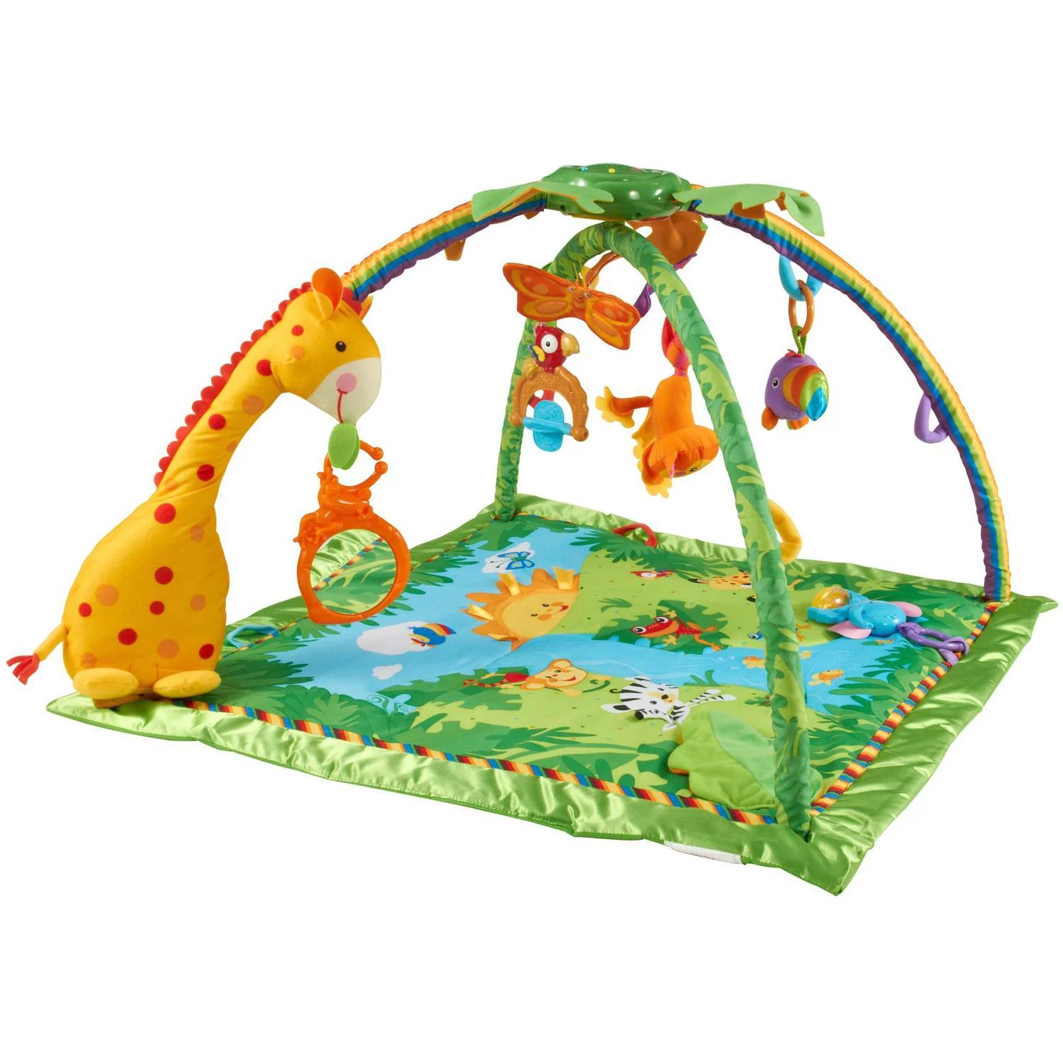 Spielbogen Baby Fisher Price Rainforest Melodies Lights Gym