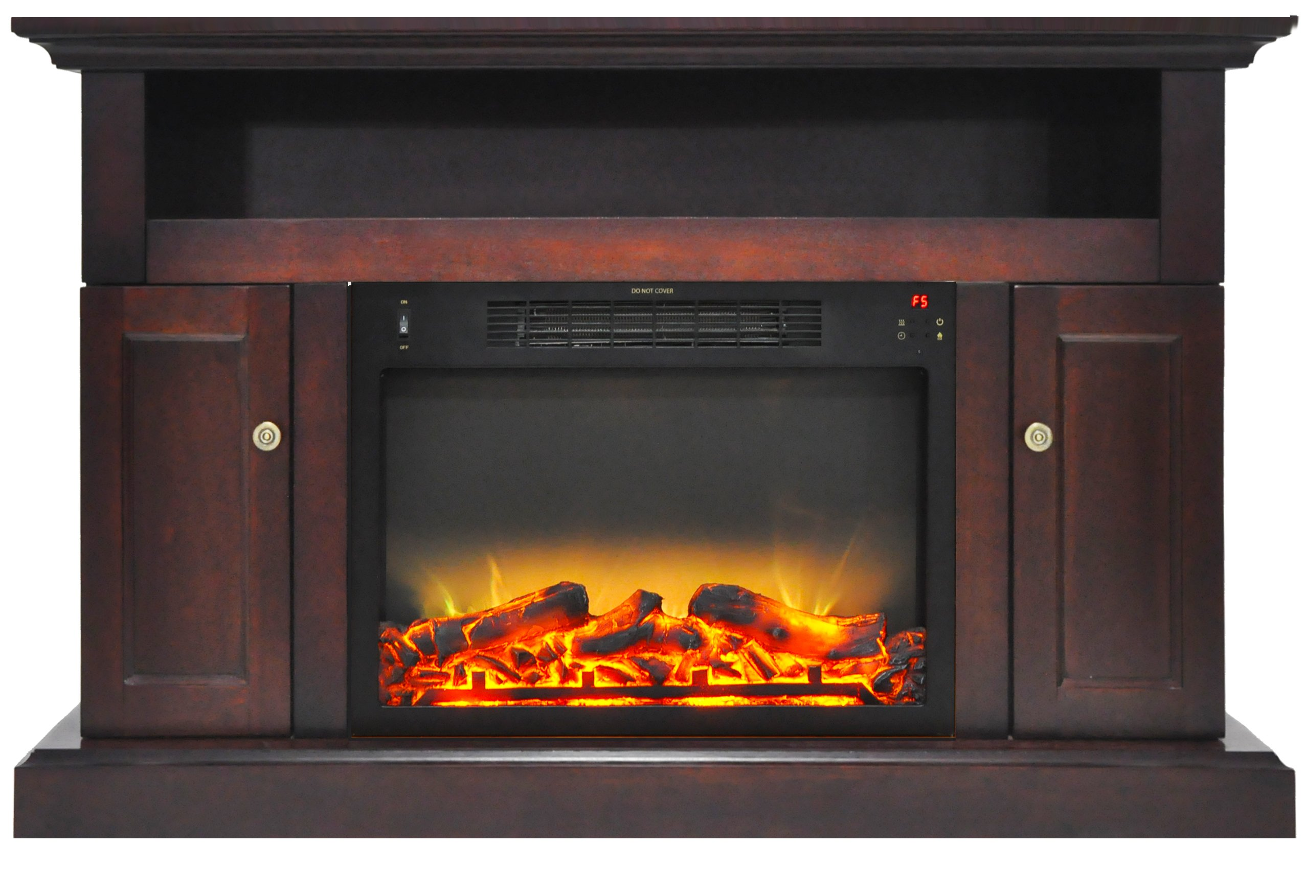 Fireplace Grate Blowers Wood Burning Cambridge Sorrento Electric Fireplace Heater With 47