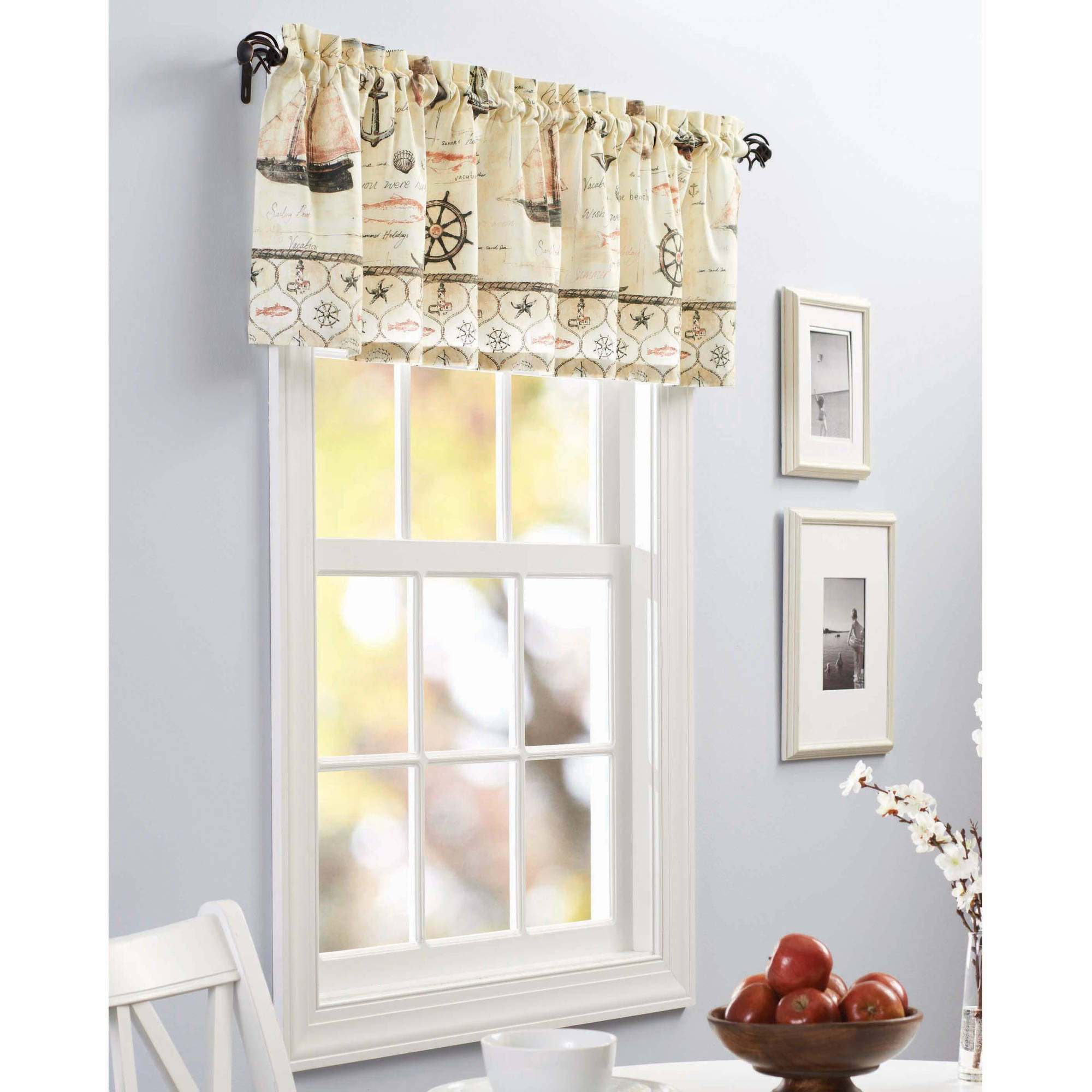 Kitchen Tier Curtains Sets Better Homes And Gardens Sunflower Kitchen Curtains
