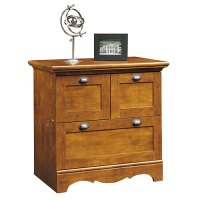 Sauder Lateral File Cabinet, Brushed Maple