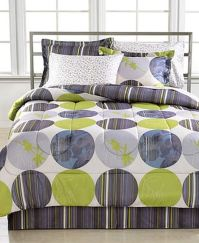 Fairfield Square Queen Bed in a Bag Elan Circle Comforter ...
