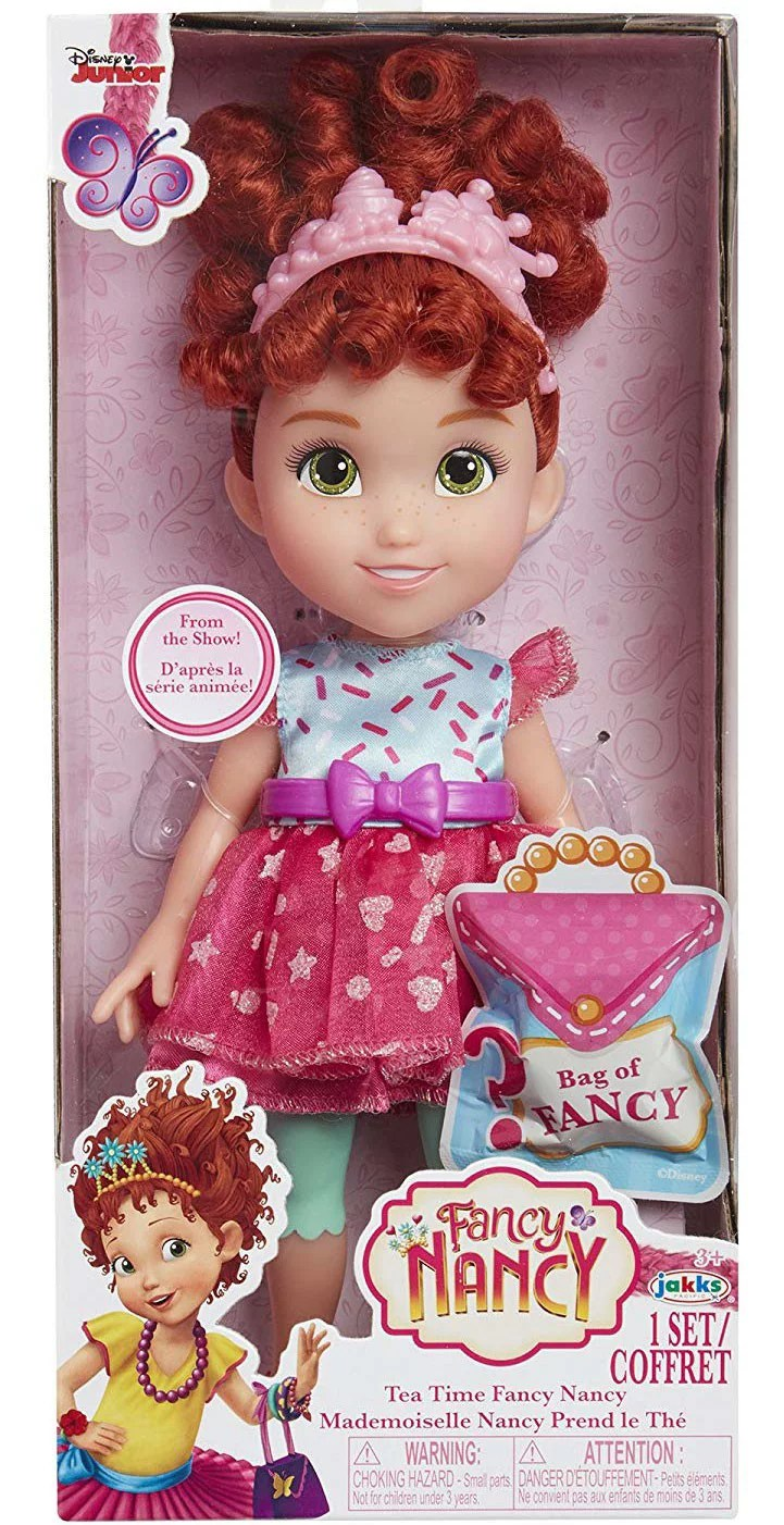 Disney Junior Fancy Nancy Tea Time Doll Walmart