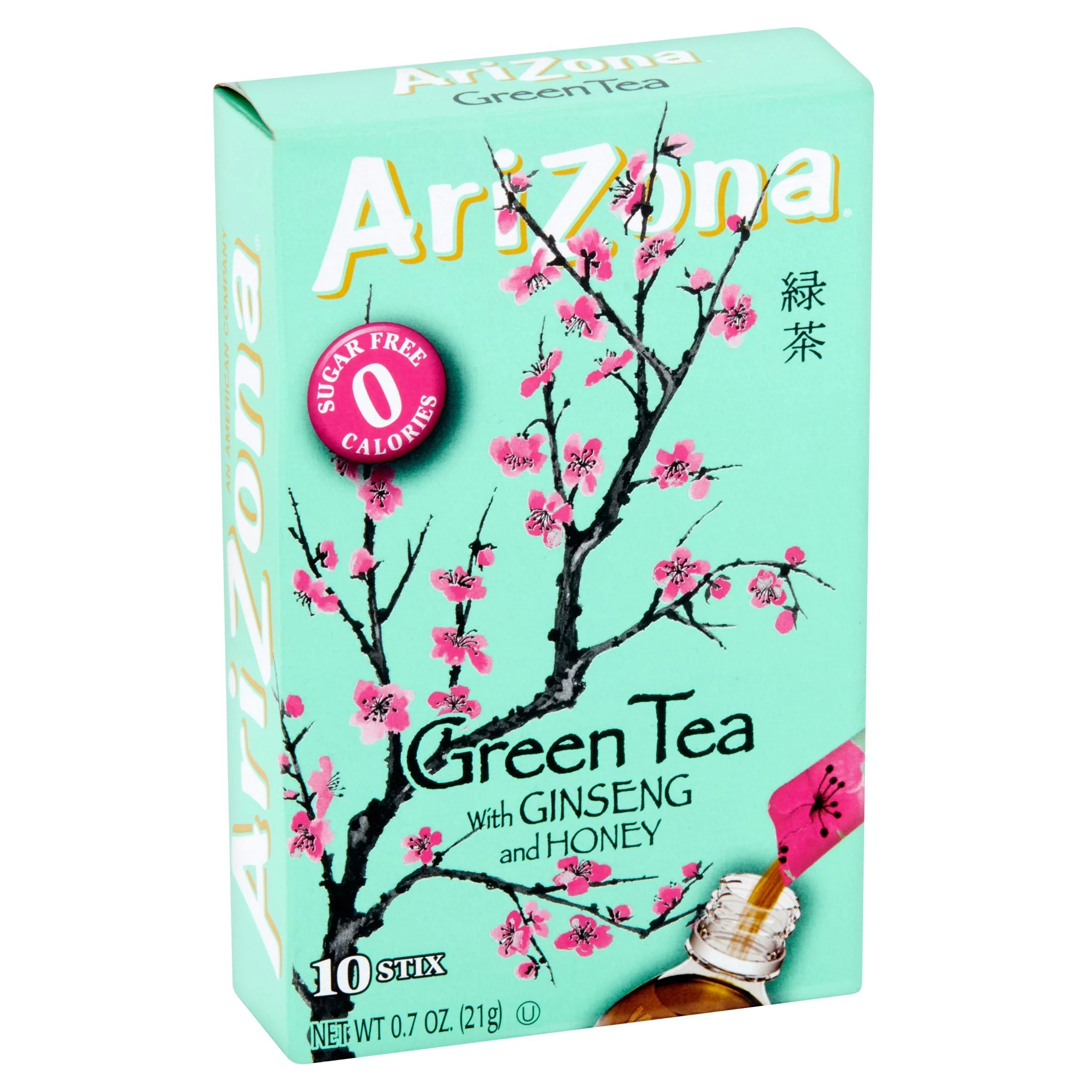 Ginseng In Deutschland Arizona Drink Mix Green Tea With Ginseng And Honey 7 Oz 10 Sticks 1 Count