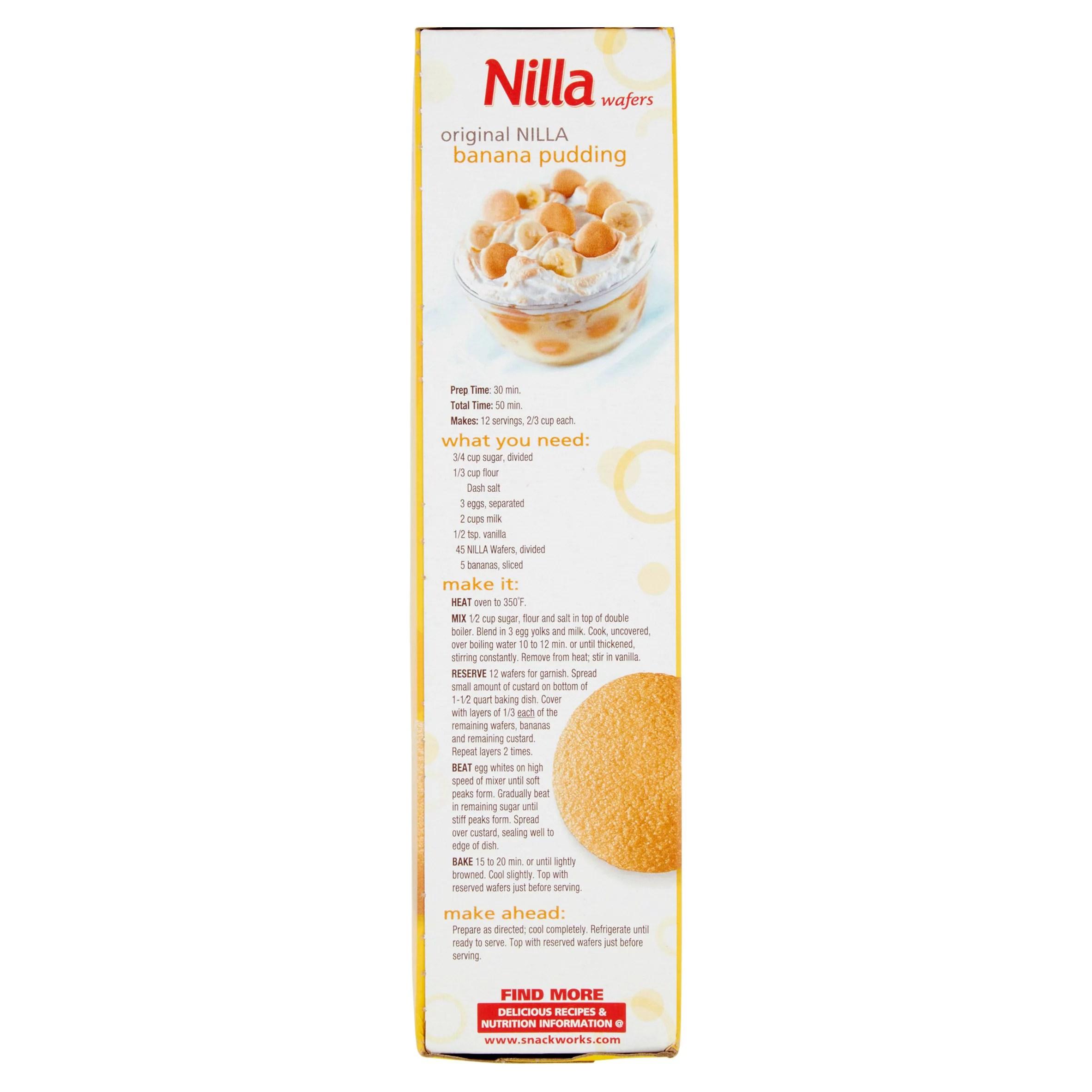 Fullsize Of Nilla Banana Pudding Cereal
