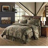 Mossy Oak Break Up Infinity Camouflage Full Comforter Set ...