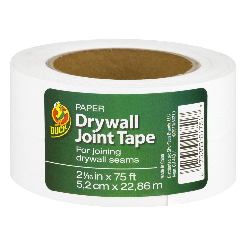 Drywall Paper Tape Duck Brand Drywall Joint Tape 75 Ft