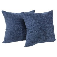 "Mainstays Chenille Decorative Throw Pillow, 18"" x 18"