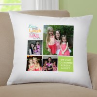 Personalized Live Laugh Love Photo Pillow, Color - Walmart.com