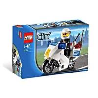 City Police Motorcycle Set LEGO 7235 - Walmart.com