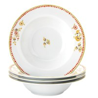 Rachael Ray Dinnerware Paisley 4-Piece Porcelain Pasta ...