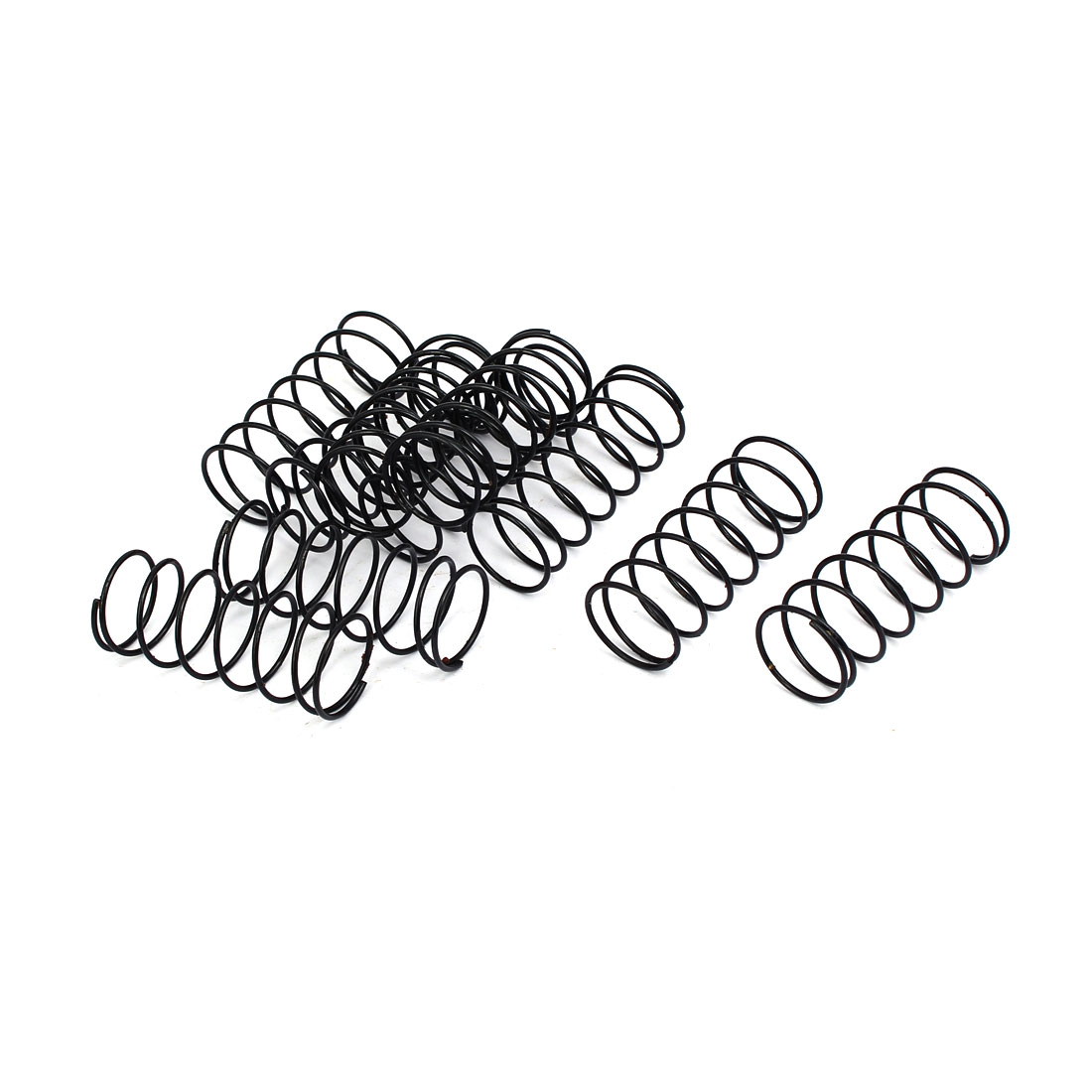 Compression Springs 1 2mm Wire Dia 20mm Outer Diameter 50mm Long Compression Springs Black 10pcs