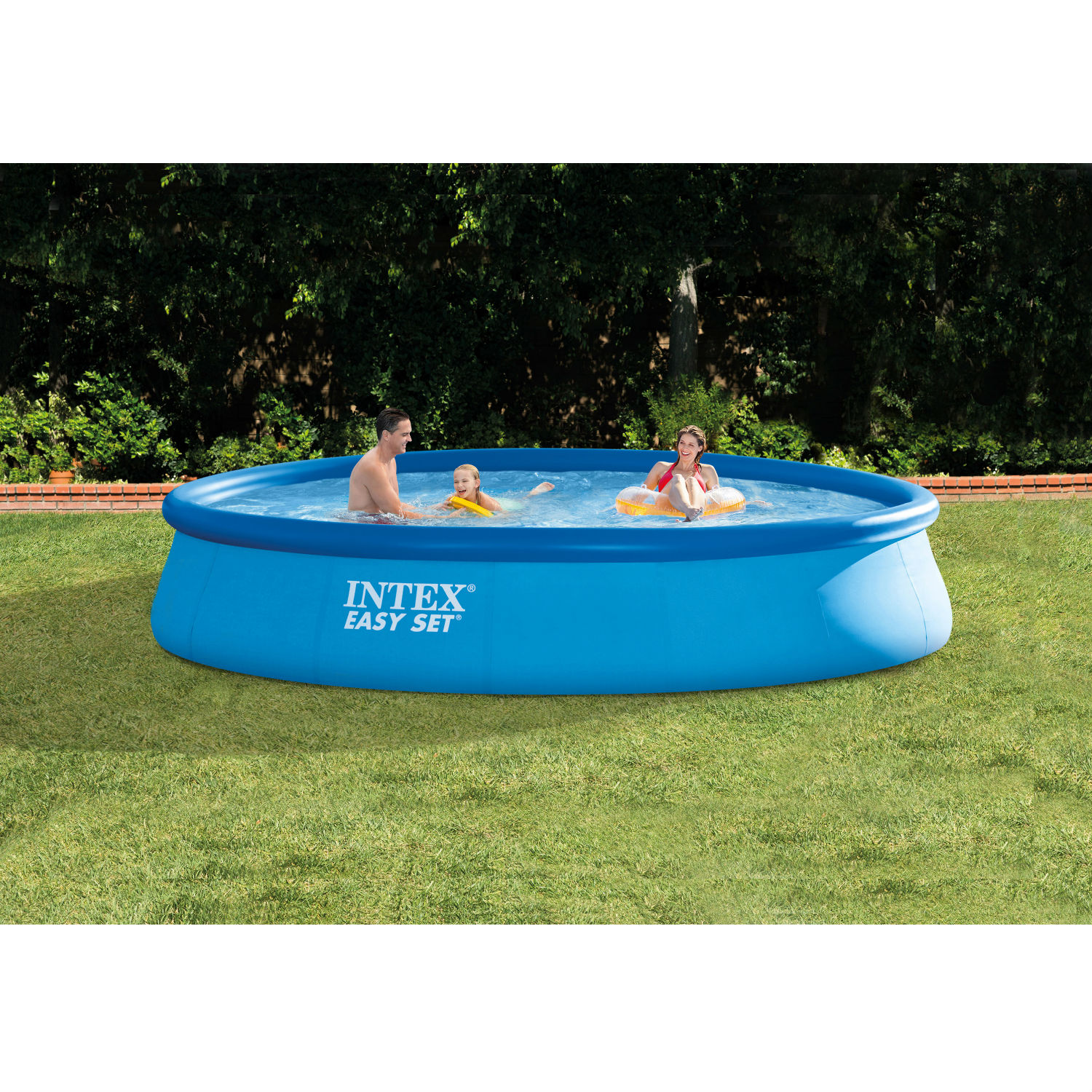 Pool Filterpumpe Betrieb Intex 13 39 X 33 39 39 Easy Set Above Ground Swimming Pool With