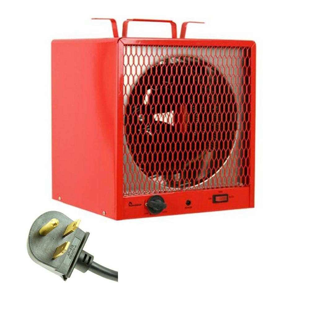 Garage Heater With Wall Thermostat Dr Infrared Heater 240 Volt 5600 Watt Garage Workshop Portable Space Heater