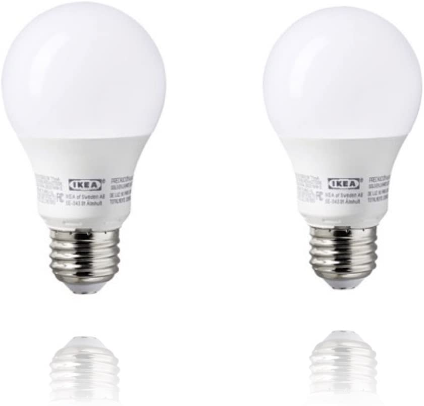 Ikea E26 Led Light Bulb 400 Lumen 2 Pack Walmart Canada