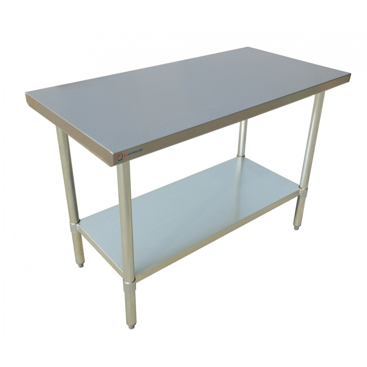Stainless Restaurant Table Eq Kitchen Line Stainless Steel Restaurant Kitchen Prepare Work Surface Table 24