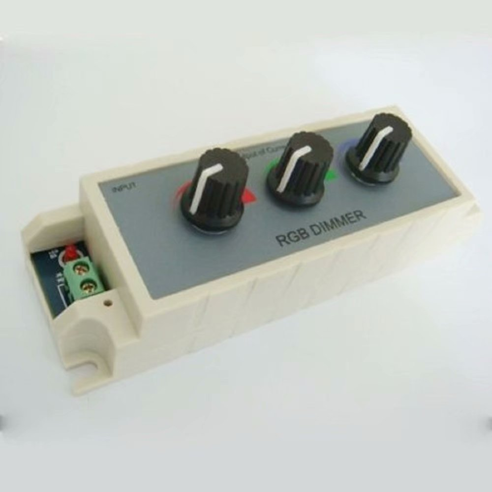 Rgb Dimmer Rgb Led Dimmer Controller With 3 Channel Output For Multi Color And Single Color Strip Lights