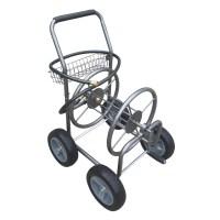 Four Wheel Outdoor Hose Reel Cart with Leader Hose ...