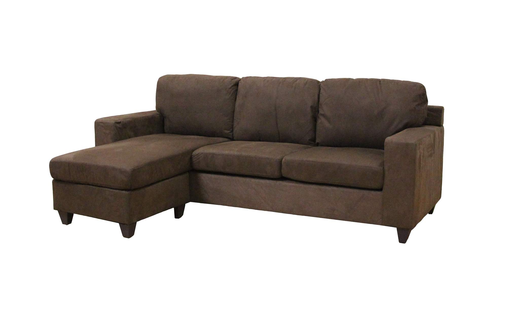 Microfiber Sectional Sofa Acme Vogue Microfiber Reversible Chaise Sectional Sofa Multiple Colors