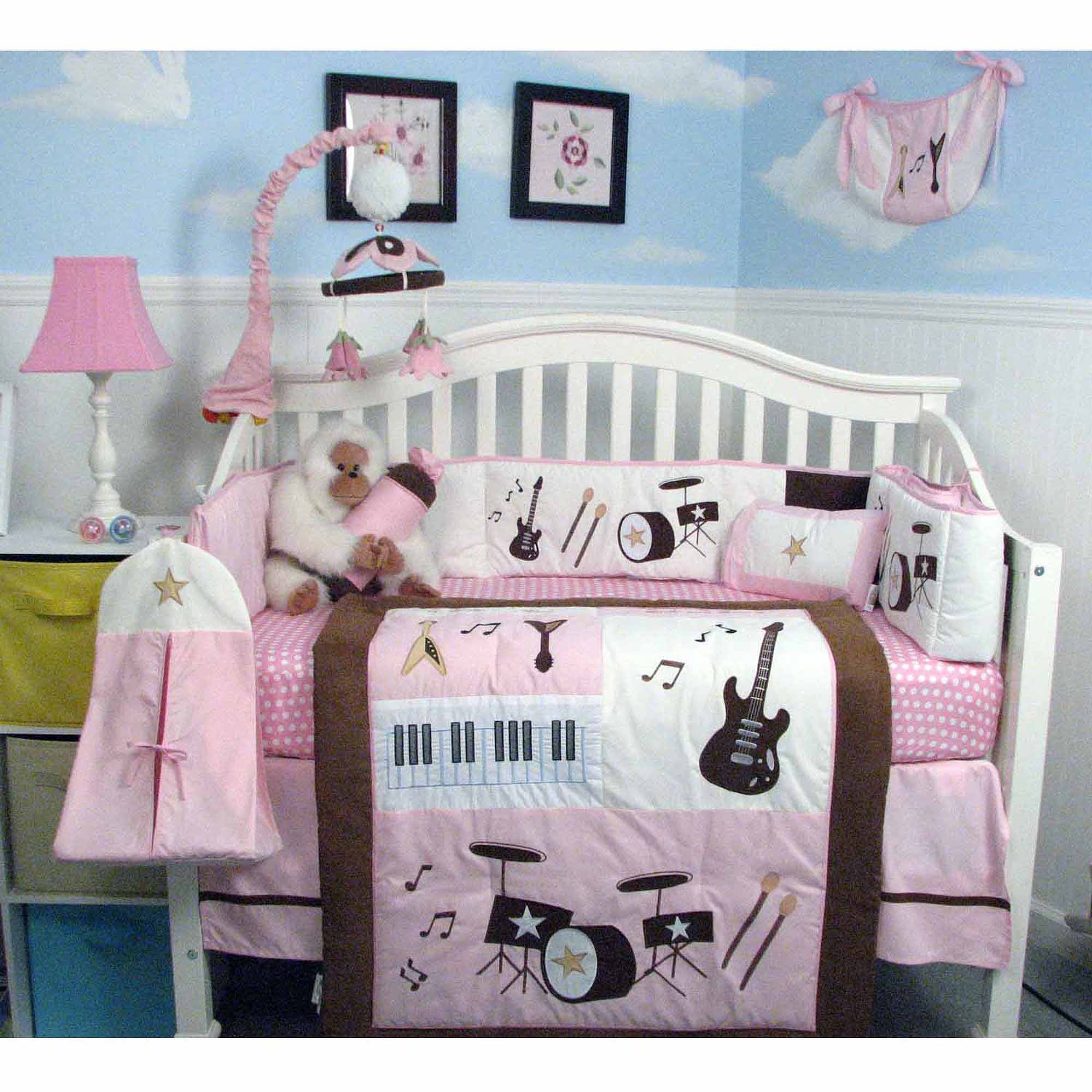 Rock And Roll Themed Room Music Themed Nursery Bedding Thenurseries