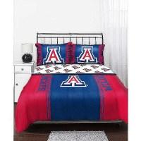 NCAA Mascot Bedding Comforter Set with Sheets, Arizona ...