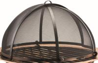 """26"""" Handcrafted Steel Mesh Spark Screen for Fire Pit ..."""