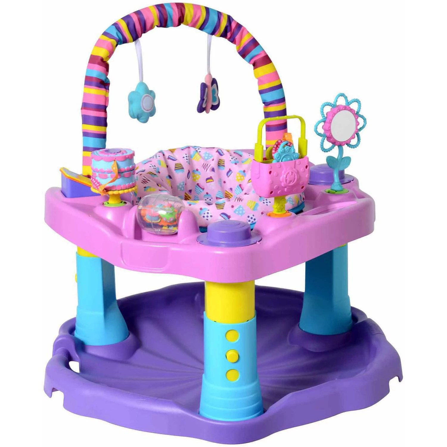 Exersaucer Canadian Tire Evenflo Exersaucer Bounce And Learn Sweet Tea Party