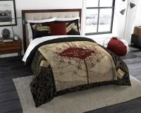 Harry Potter The Marauder's Map Comforter Set - Walmart.com