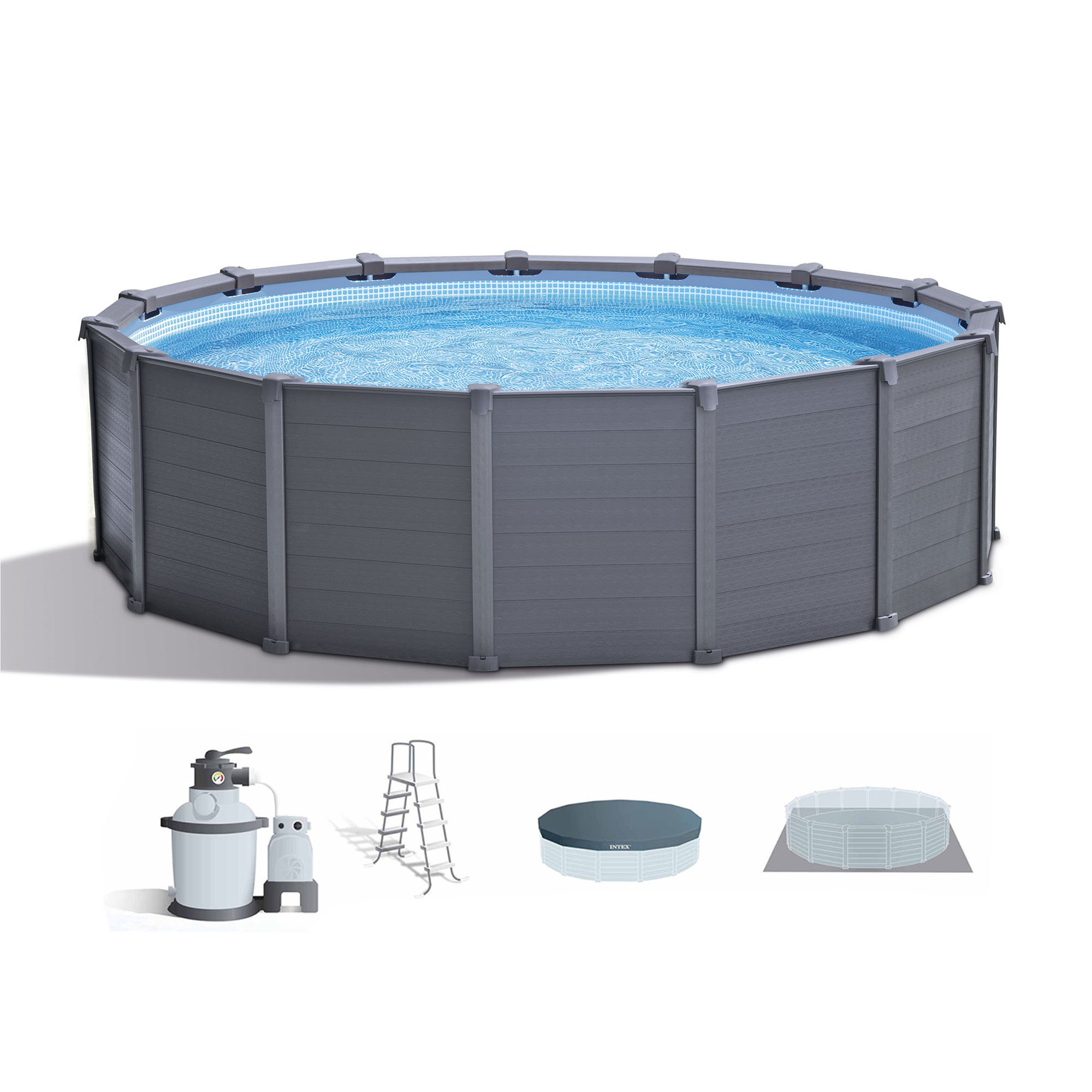 Pool With R Intex 15 8