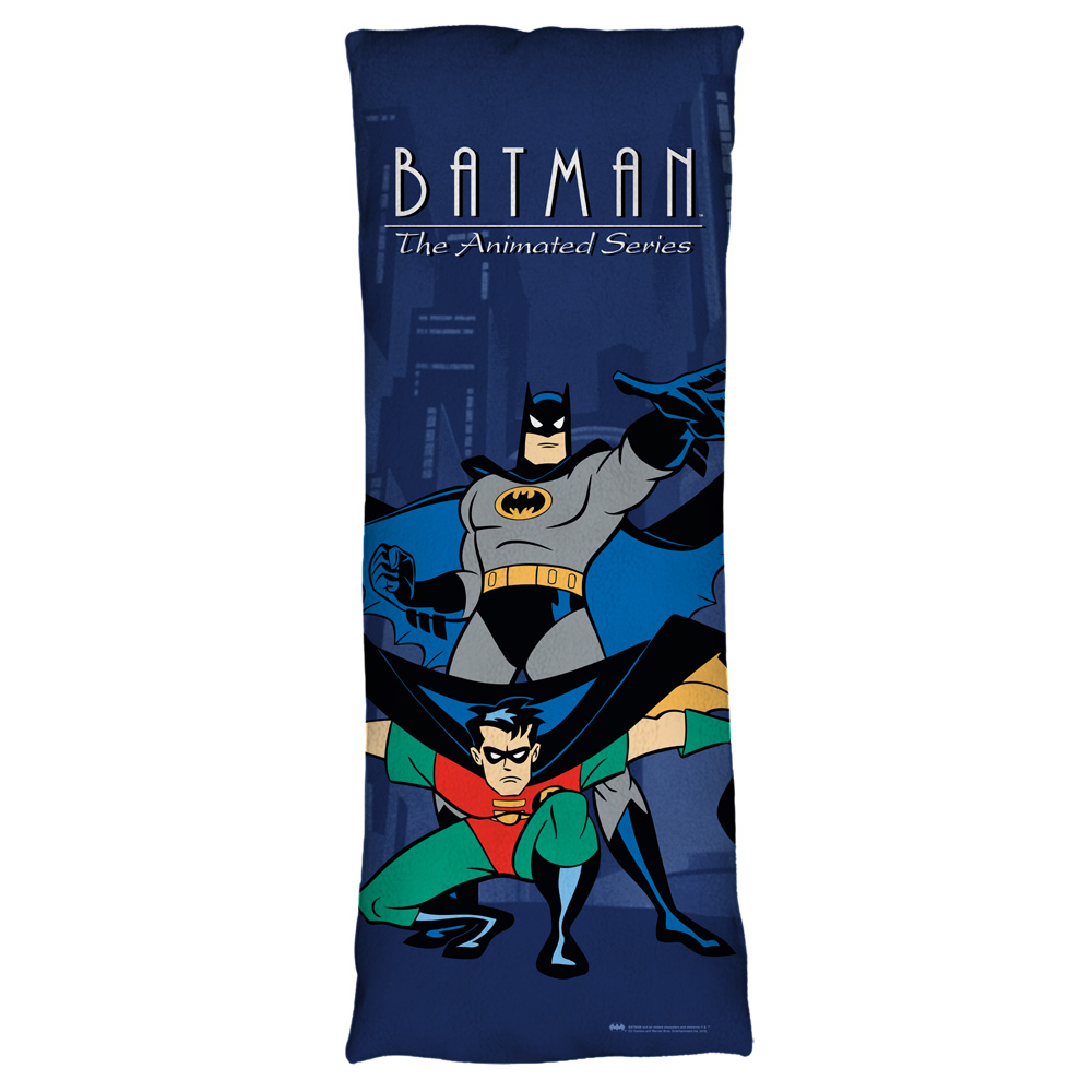Batman The Animated Series Batman And Robin Plush Fleece