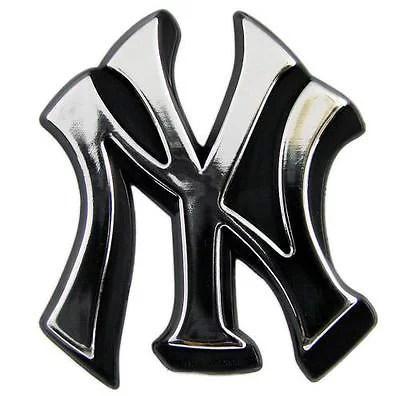 3d Wallpaper Ny Giants Mlb New York Yankees Chrome Automobile Emblem Walmart Com