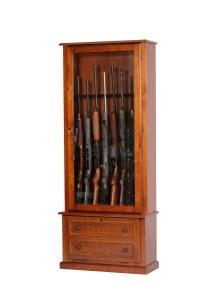 8 Gun Classic Gun Cabinet - Walmart.com
