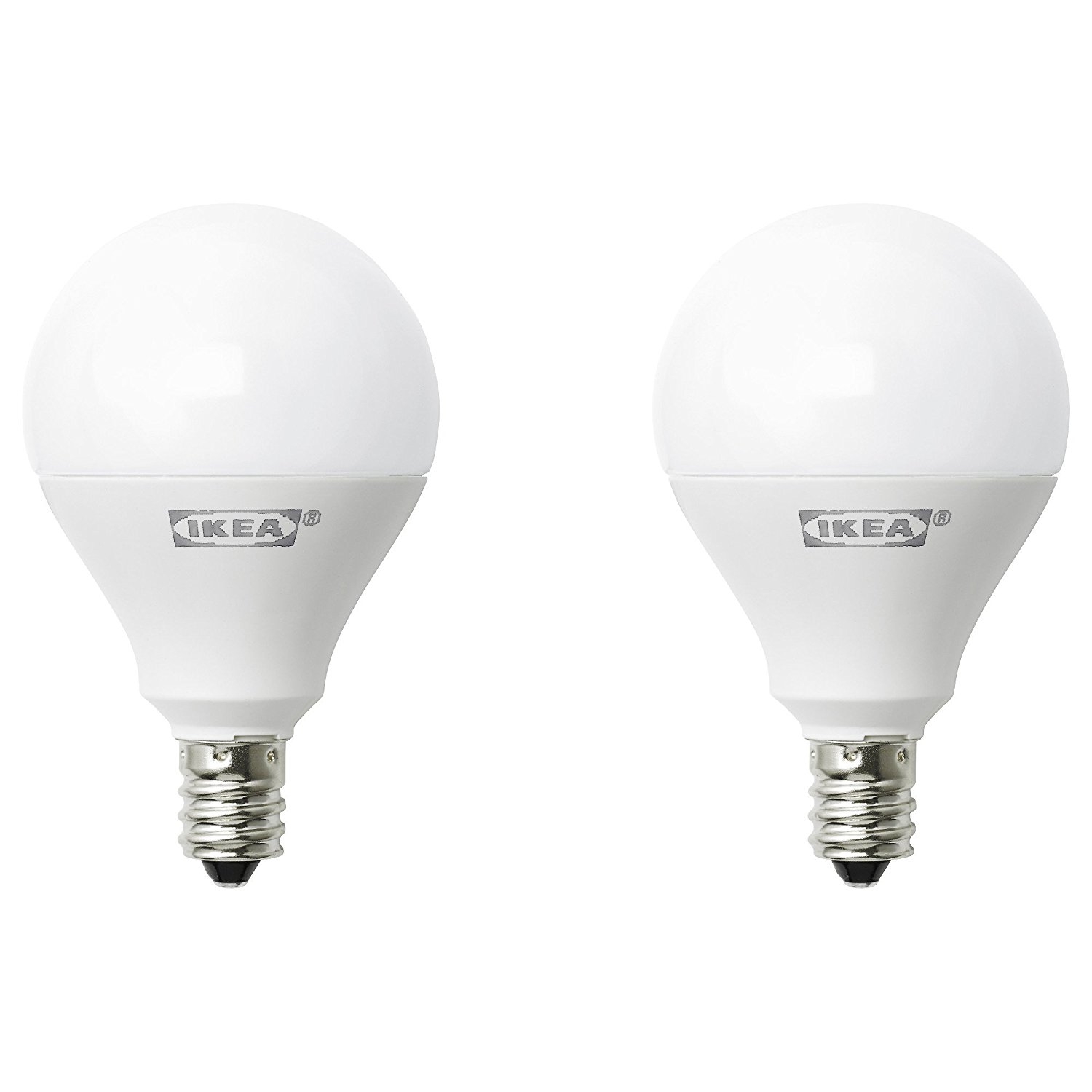 5 Watt Led Ikea Ryet E12 400 Lumen Led Light Bulb 5 Watt Pack Of 2