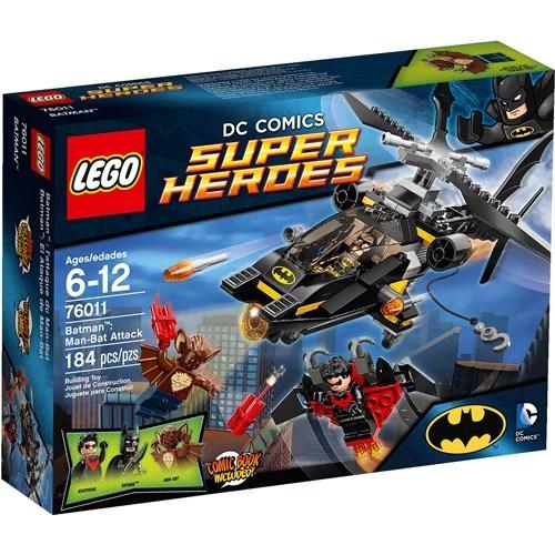 Lego Super Heroes Batman Man Bat Attack Play Set