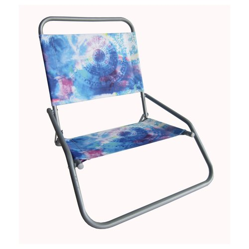 Mainstays 1 Position Beach Chair Blue Tie Dye Walmartcom