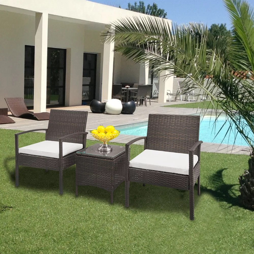 Patio Furniture Sets Clearance 3 Piece Outdoor Furniture Rattan Patio Furniture Set With - Garden Furniture Clearance Leicestershire