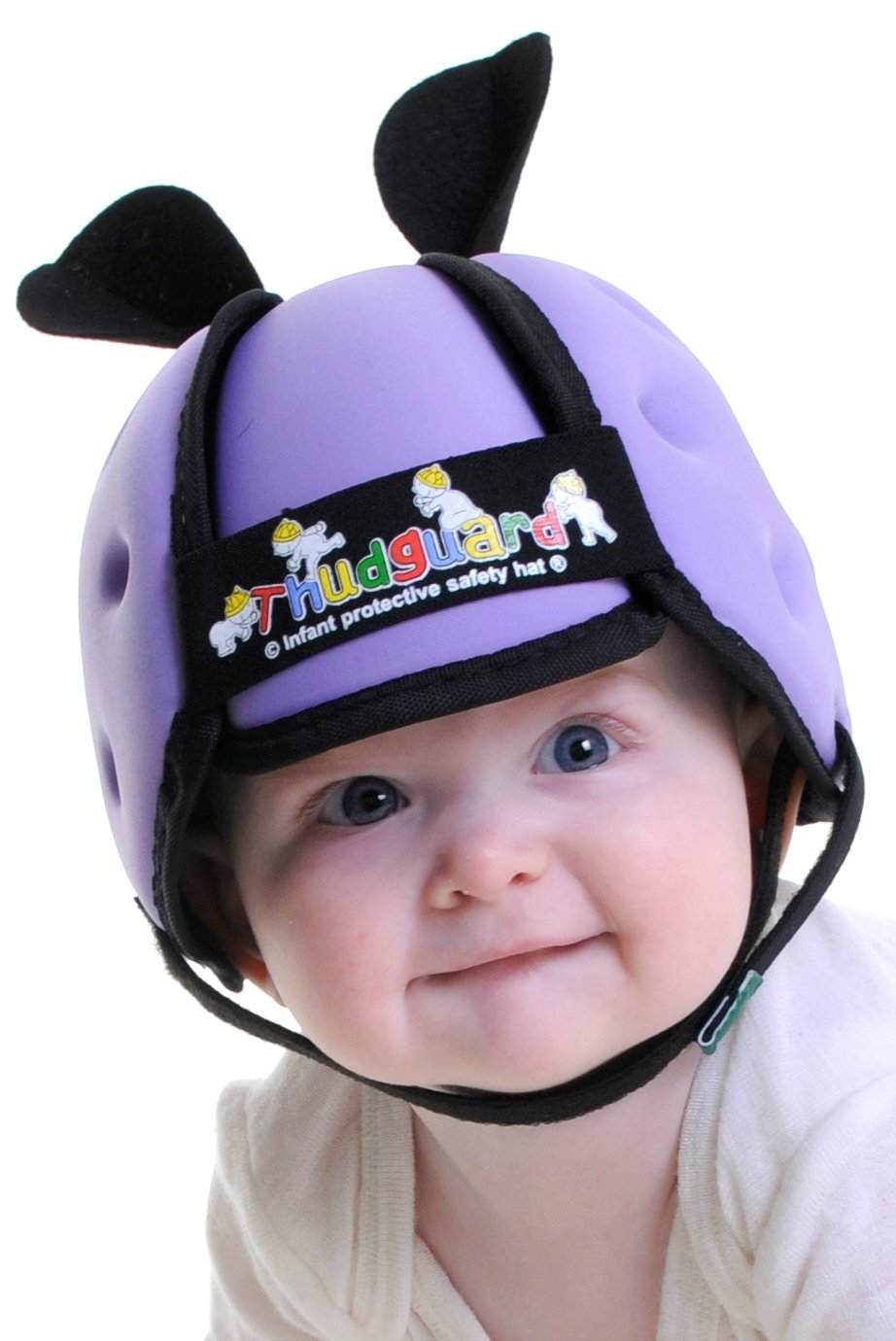 Baby S First Head Gear Thudguard Safety Helmet Lilac - Baby Safety Helmet Walmart