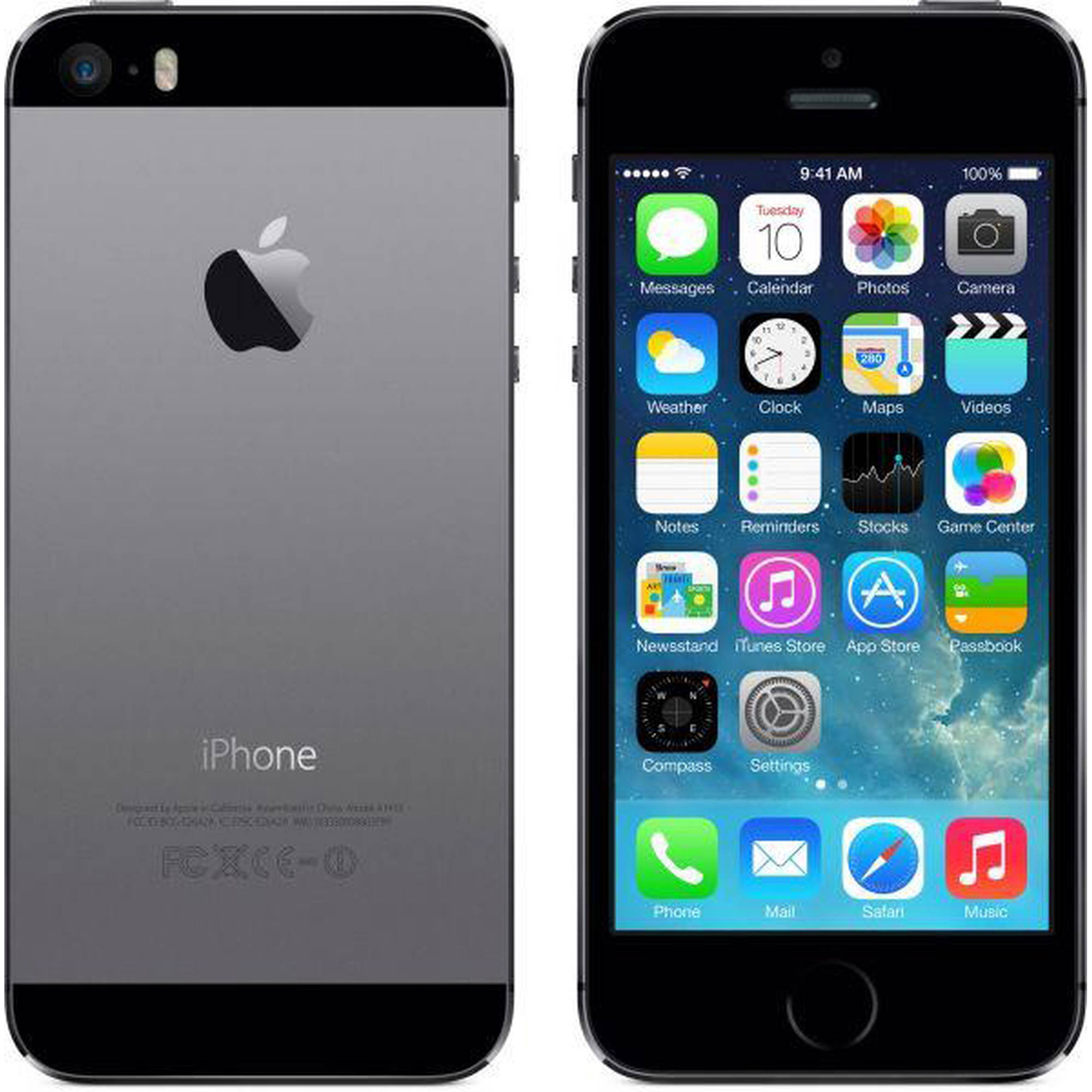 Refurbished apple iphone 5s 16gb gsm smartphone unlocked walmart com