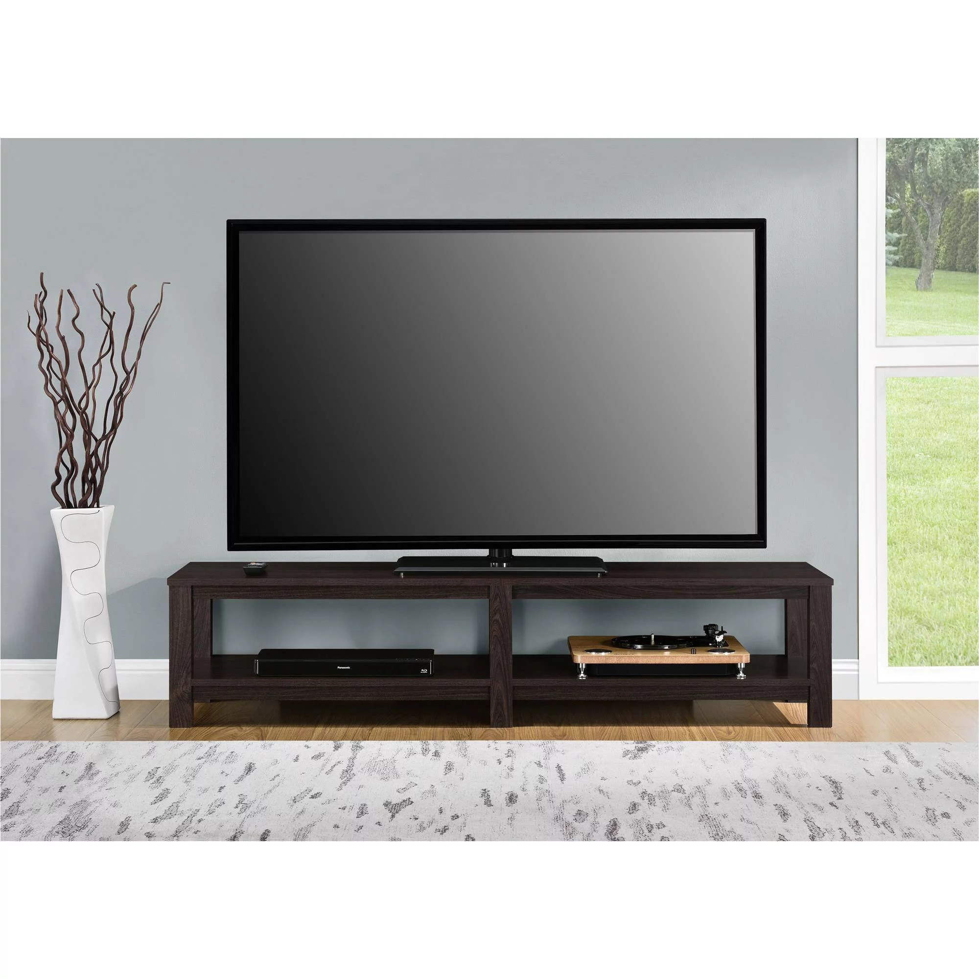 65inch Tv Dimensions Tv Stand 65 Inch Flat Screen Entertainment Media Home