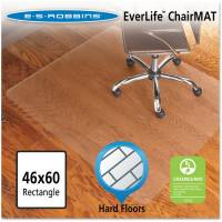 ES Robbins Chair Mat for Hard Floors, Rectangle, 46w x 60l ...