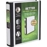 Staples Better Mini 5.5 x 8.5 Inch 3-Ring View Binder ...
