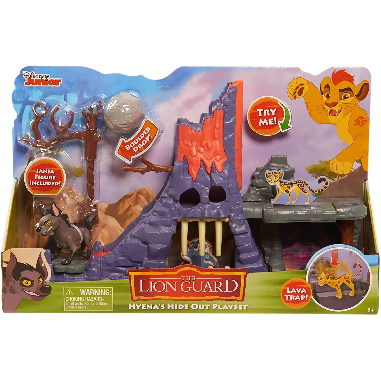 Lion Guard Hyena Hideout Playset Walmart