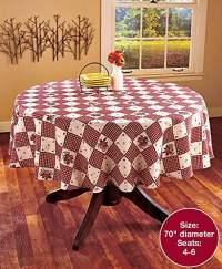 Linda Spivey Kitchen Decor Table Cloth Linens Primitive ...
