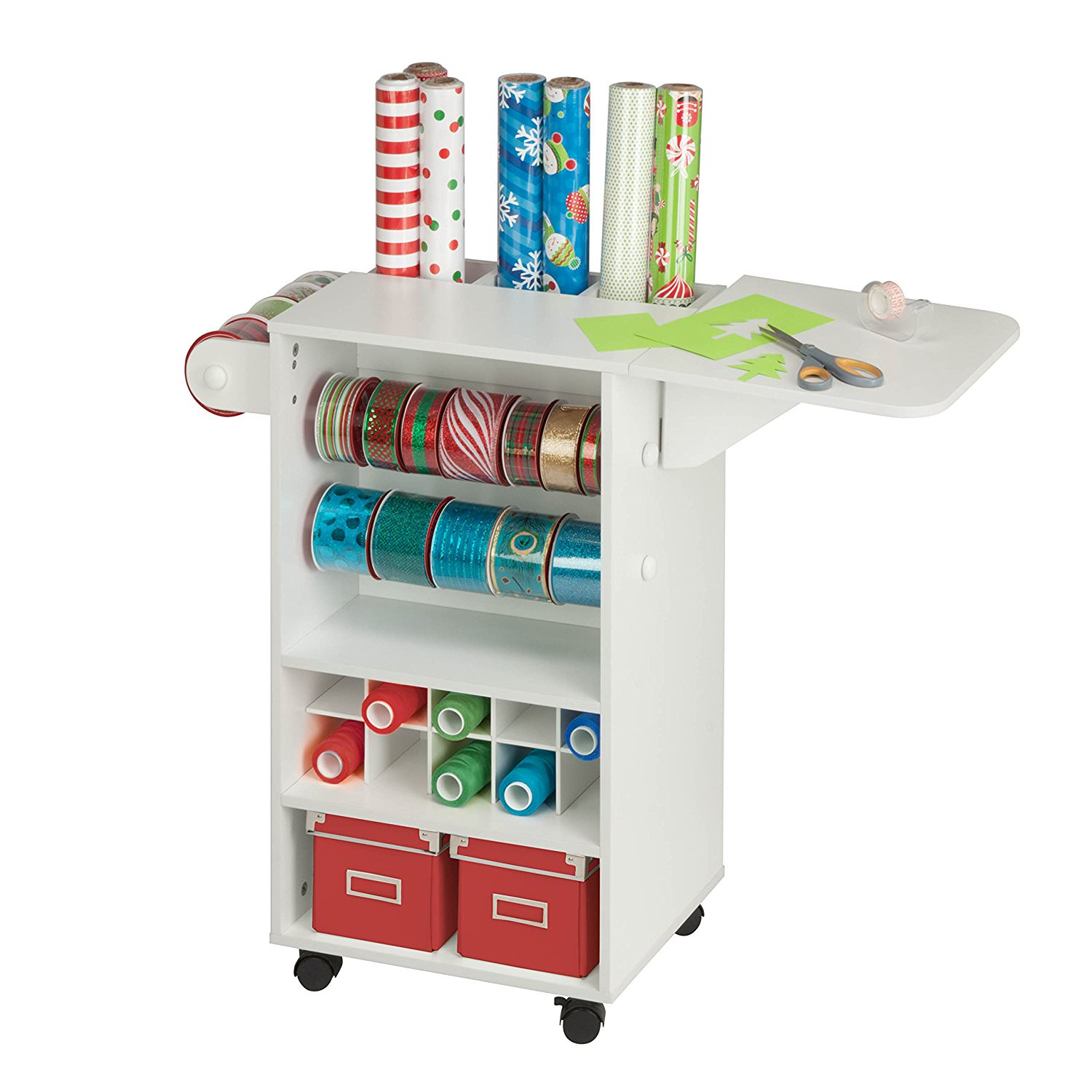 Storage Table On Wheels Details About Storage Rolling Cart 3 Drawers White Organizer Shelf Folding Side Table 4 Wheels