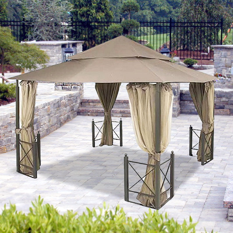 Garden Winds Riplock Fabric Replacement Canopy Top For
